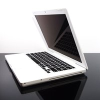 TopCase BLACK Keyboard Silicone Skin Cover for Macbook 13 13.3 (1st Generation/A1181) with TopCase Mouse Pad