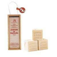サボンドマルセイユ 無香料パームソープ木箱ギフトセット