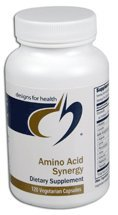 Designs For Health Amino Acid Synergy 120 vcaps