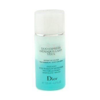 Christian Dior Duo Express Instant Eye Makeup Remover 4.2oz