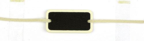 Déco-Sono - 6 ardoises bracelet ivoire