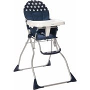Cosco Flat Fold High Chair, Star Spangled front-1036649