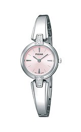 Pulsar Dress Collection Steel Bangle Pink Dial Women's watch #PTA463