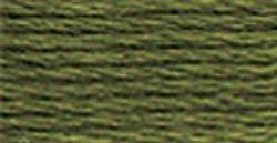 DMC Pearl Cotton Skeins Size 3 16.4 Yards Dark Green Grey 115 3-3051; 12 Items/Order