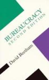 Bureaucracy (Concepts Social Thought)