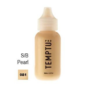 Temptu Pro S/B Airbrush Makeup 1 Ounce Bottle Of Pearl Color (#081)