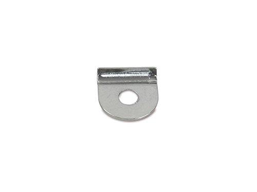 Kederklemme einzeln für Knieblech KR51, KR51/1, KR51/2 (chrom-optik)