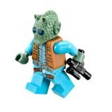 LEGO Star Wars Minifigure Bounty Hunter Greedo with blaster gun (75052)