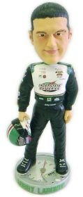 Bobby Labonte #18 Driver Suit Forever Collectibles Bobble Head by Hall of Fame Memorabilia