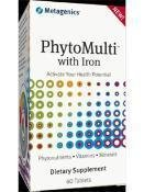 Metagenics - Phytomulti With Iron 60 Tablets