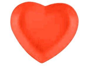 BIA Cordon Bleu Red Heart-Shaped Plate 6.25-in. - Buy BIA Cordon Bleu Red Heart-Shaped Plate 6.25-in. - Purchase BIA Cordon Bleu Red Heart-Shaped Plate 6.25-in. (BIA Cordon Bleu, Home & Garden, Categories, Kitchen & Dining, Tableware)