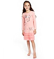 Girl Face Print Nightdress