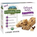 Cascadian Farm Organic Granola, Oatmeal Rasin 6.24 oz. (Case of 12)