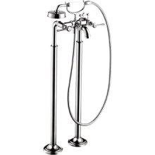 Hansgrohe 16553831 Montreux Free Standing Tub Filler Polished Nickel Lever (Hansgrohe Freestanding Tub Filler compare prices)