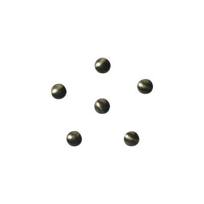 shu shu ラブチャーム カラースタッズ ラウンド 1.5mm ビンテージオリーブ 50P
