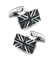 Union Jack Rectangular Cufflinks