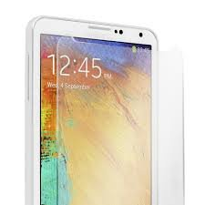 NOVICZ Samsung Galaxy Note 3 Mobile Phone Tempered Glass Screen Guard Scratch Protector