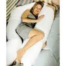 DAMASK MATERNITY / PREGNANCY SUPPORT 9FT COMFORT U PILLOW & OR PILLOW CASE (No Pillow case)