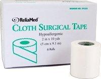"ReliaMed 2"" x 10 yds. Tape, Silk Cloth, Roll Roll 1"