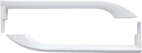 Frigidaire 5304486359 PS9865034 5304497105 AP5949298 WHITE DOOR HANDLES (SET) Model: 5304497105 (Frigidaire Door Handle 242059504 compare prices)