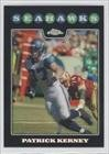 Patrick Kerney Seattle Seahawks (Football Card) 2008 Topps Chrome Refractors #TC106 at Amazon.com