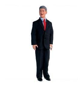 Bill Clinton Talking 12-inch Figure - Buy Bill Clinton Talking 12-inch Figure - Purchase Bill Clinton Talking 12-inch Figure (Talking Presidents, Toys & Games,Categories,Dolls,Interactive Dolls)