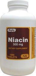 Niacin 500 Mg 1000 Tabs By Rugby