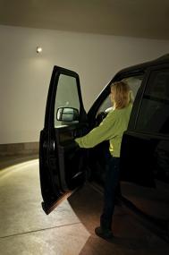 Install the Ultra Bright Spotlight in garages for extra light at night