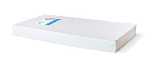 Foundations Worldwide Infapure Full Crib Mattress, Foam, White, 5 ""