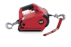 Warn 885030 Red 24V DC Cordless PullzAll Lifting and Pulling Tool
