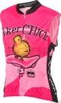 Image of World Jerseys Biker Chick Sleeveless Pink Jersey MD (B001ES1X12)