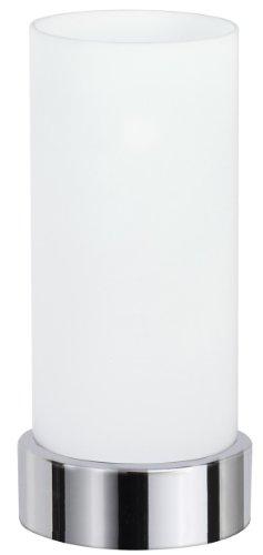 Paulmann-77029-TableDesk-Pinja-Tischleuchte-max1x40W-E14-ChromOpal-230V-MetallGlas