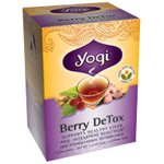 Yogi Tea Herbal Teas Berry Detox 16 Tea Bags