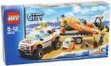 3 X LEGO City Coast Guard 60012: 4x4 & Diving Boat