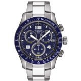 Tissot V8 Blue Quartz Chronograph Sport Men's watch #T039.417.11.047.02