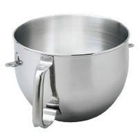 KitchenAid 5 Quart Polished Stainless Steel Mixing Bowl (ONLY to fit KG 5-Quart KitchenAid Bowl-Lift Stand Mixers) (Kitchenaid Lift Stand compare prices)