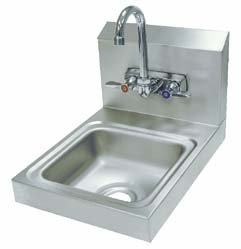 Sink Hand Wall Mounted - Space Saver Hand Sink, Advance Tabco - Model 58003-098 - Each