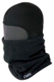 コミネ KOMINE 防寒フリースマスク ブラック フリー 09-016