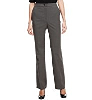 M&S Collection Slim Leg Zip Pocket Trousers