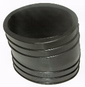 Lower Bent 4 Inch Exhaust Tube Bellows for Mercruiser Replaces 32-14358001 32-14358T