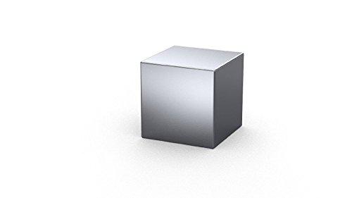 1 x Cubi magnetici al Neodimio 29 x 29 x 29 mm | Nichelato (NiCuNi) | Forza di attrazione circa: ~ 4 kg | 1 pz. Cubo magnetico