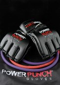 Power Punch MMA Boxing Gloves, Mixed Martial Arts