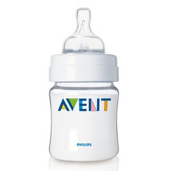 4-oz. Bottle with Newborn Nipple - 1