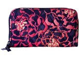 Vera Bradley Women\'s Accordion Wallet Katalina Pink Checkbook Wallet