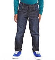 Cotton Rich Adjustable Waist Jeans