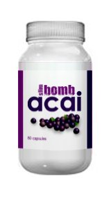 Acai Berry Diet & Weight Loss Tablets By Slim Bomb - 60 Slimming Capsules
