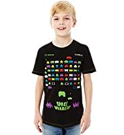 Pure Cotton Space Invaders™ T-Shirt