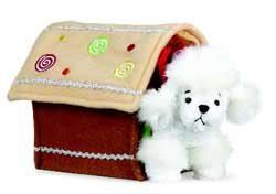 Gingerbread House with White Poodle GANZ Holiday Plush - Buy Gingerbread House with White Poodle GANZ Holiday Plush - Purchase Gingerbread House with White Poodle GANZ Holiday Plush (Ganz, Toys & Games,Categories,Stuffed Animals & Toys,More Stuffed Toys,Figures)