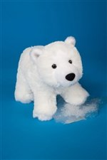 "Whitey Polar Bear 7"" by Douglas Cuddle Toys"
