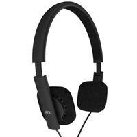 Jays Earphones V-Jays Heavy Bass Impact Ultra Portable, Foldable Headphones - 40Mm Dynamic Driver, Black